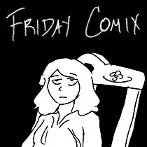 Friday Comix button